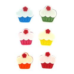 Décors pâtissiers Mini Cupcakes (x6)