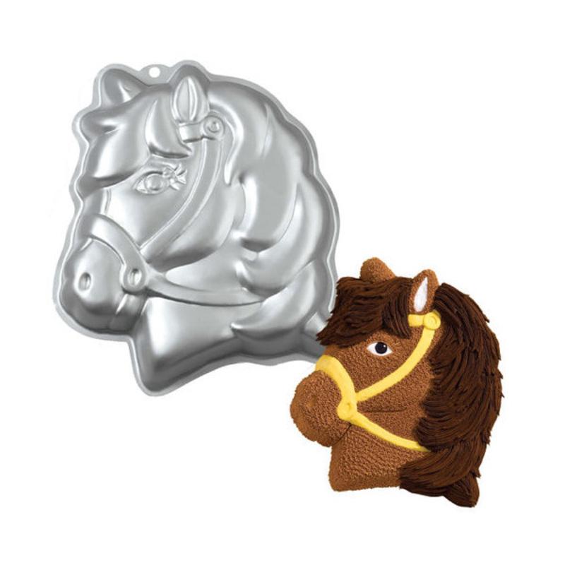 Moules alu tête de poney Wilton
