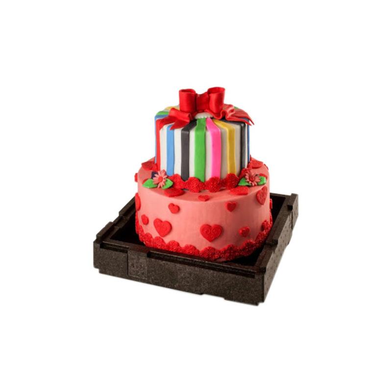 Boite De Transpot Wedding Cake