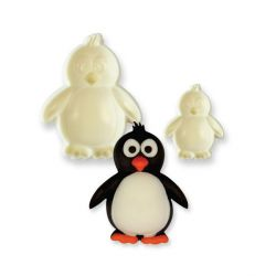 Forme modelage pop-it pingouins (x2)