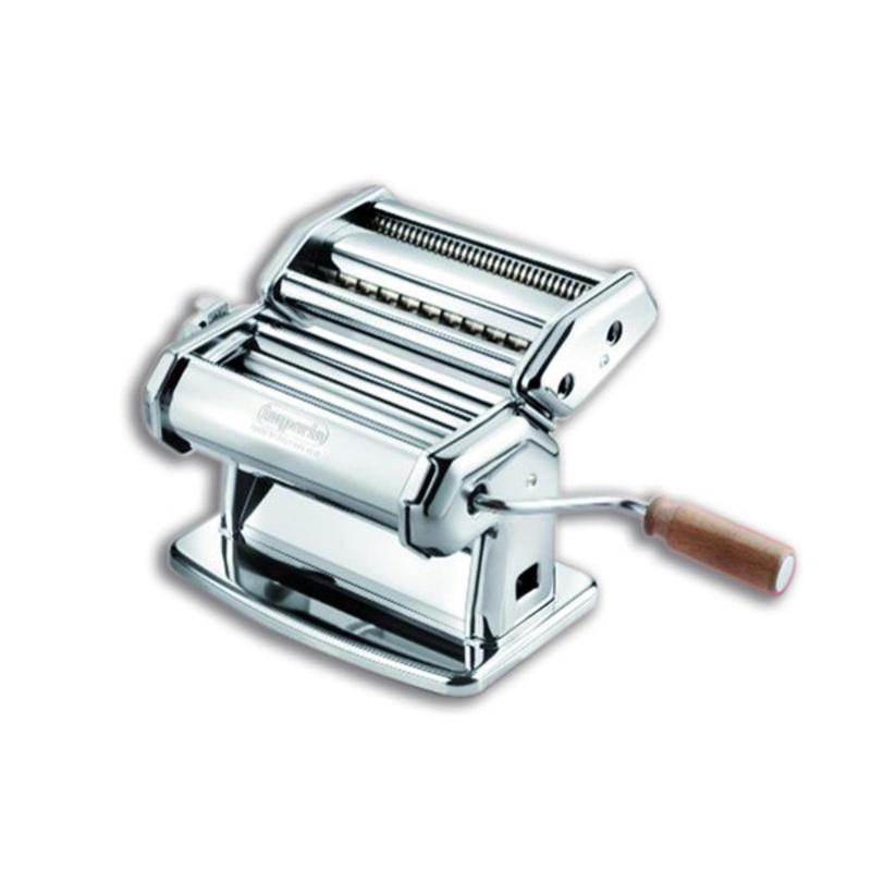Machine à pâte manuelle chromée