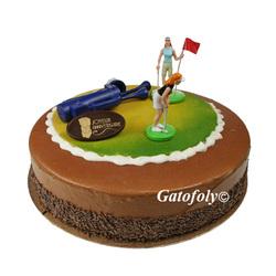 Kit Décor Gâteau anniversaire Golfeuses
