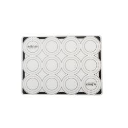 Tapis silicone pâtissier anti-adhérent avec repères