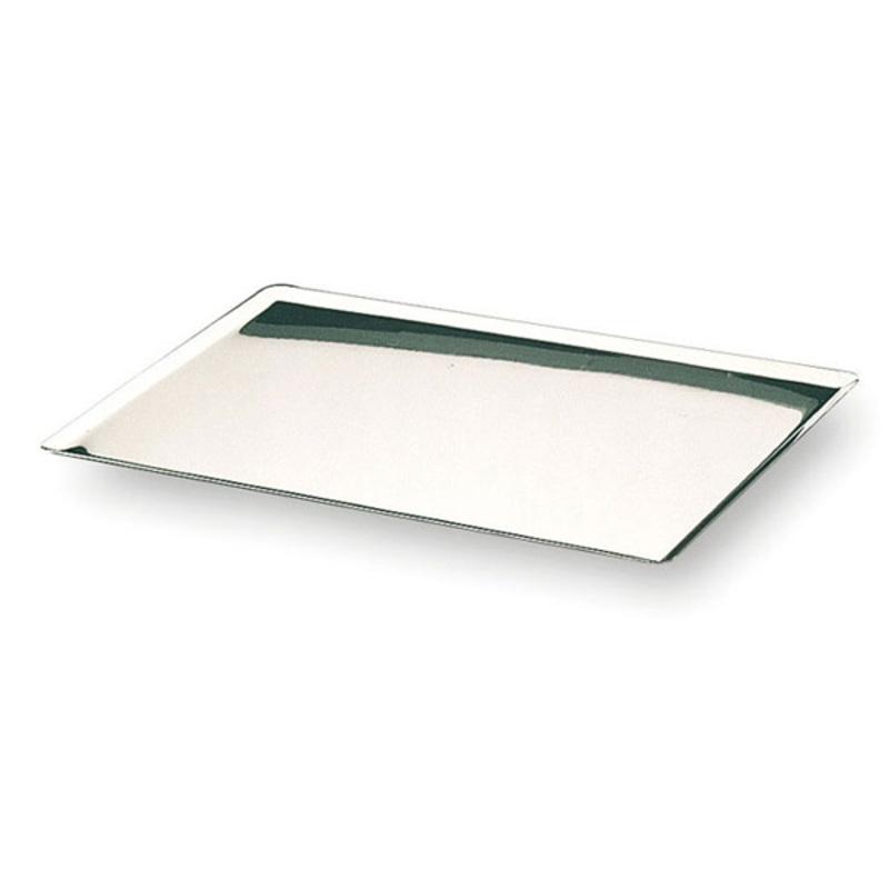 Plaque à pâtisserie inox 40 x 30 cm