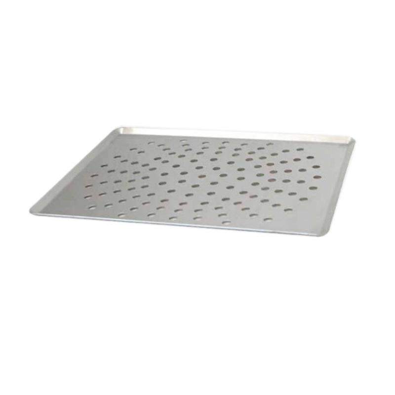 Plaque de cuisson perforée alu 40 x 30 cm