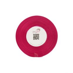 Ruban satin fuchsia 6 mm (25 m)