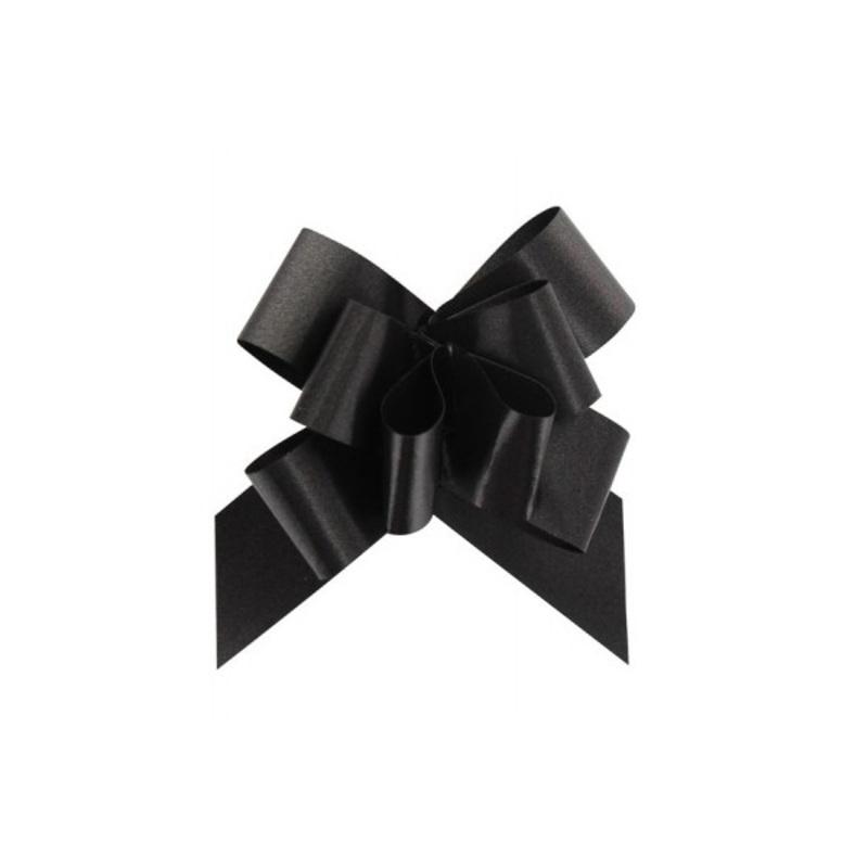 Noeud à tirer noir (x2)