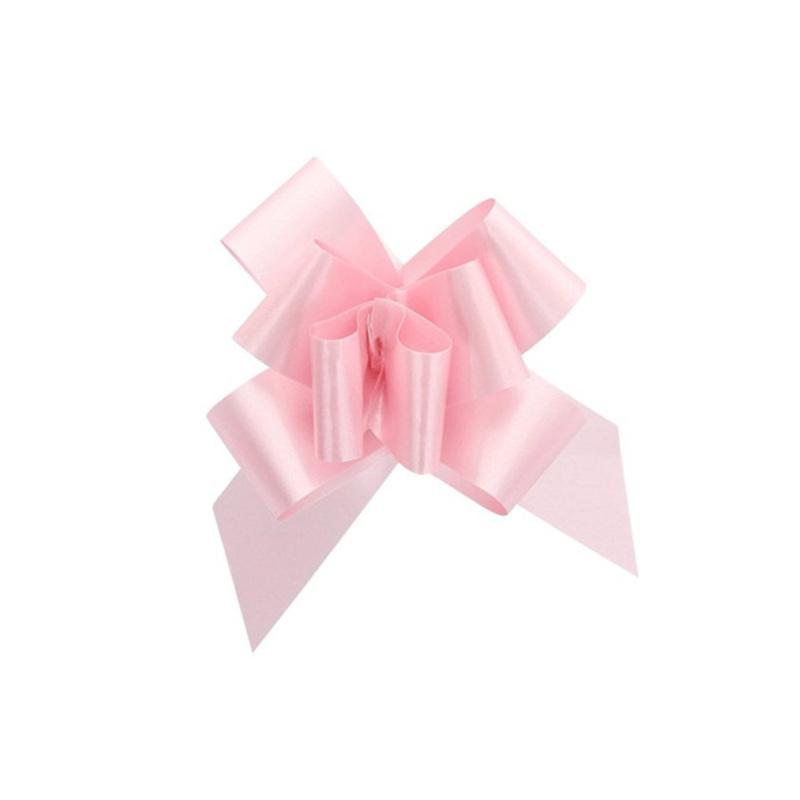 Mini noeud à tirer rose (x20)