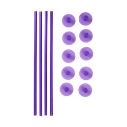 Tiges de soutien centrales + capuchons Wilton (x3)
