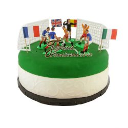Kit Décor Gâteau Football France
