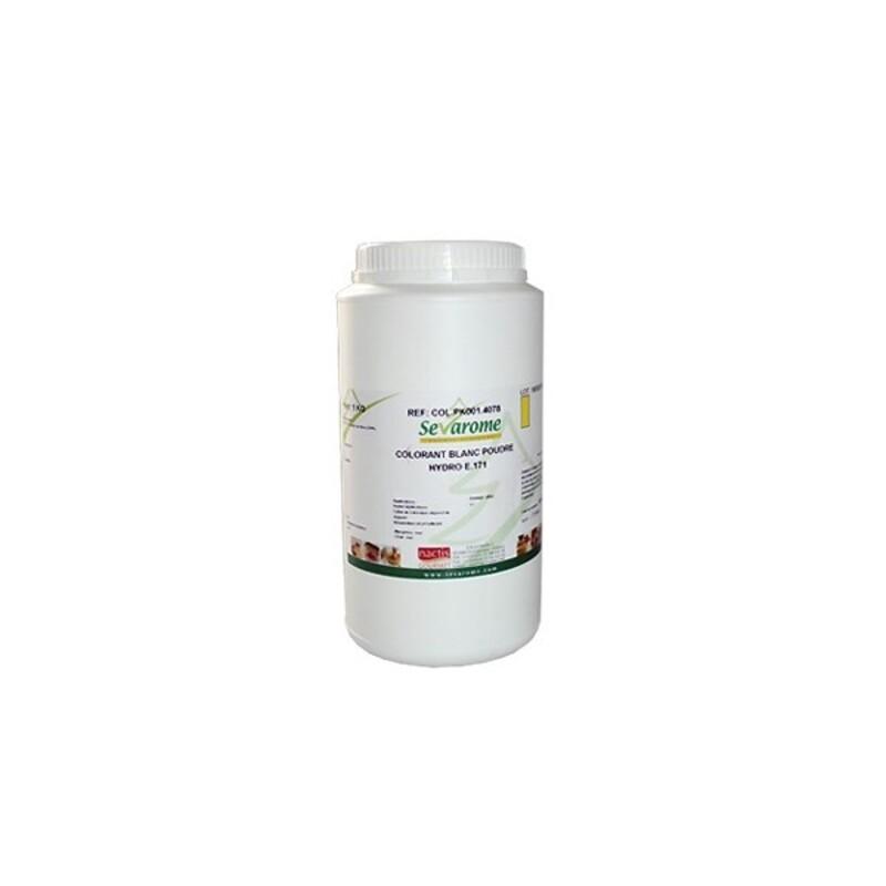 colorant blanc poudre hydrosoluble 1 kg - Colorant Patisserie