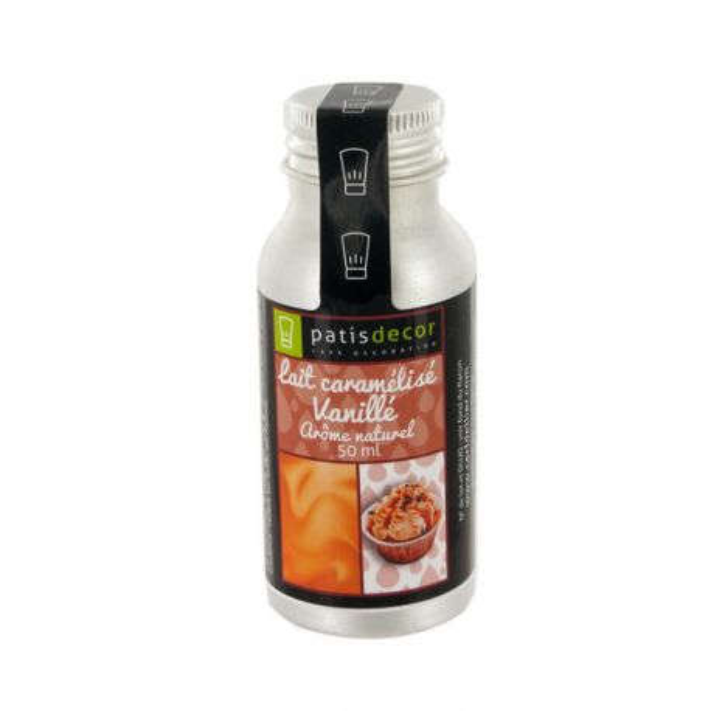 Arôme alimentaire naturel Lait Caramélisé Patisdécor