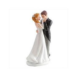 Couple de mariés baise-main 16 cm