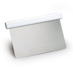 Coupe Pâte lame inox rigide droite 13 x 10 cm
