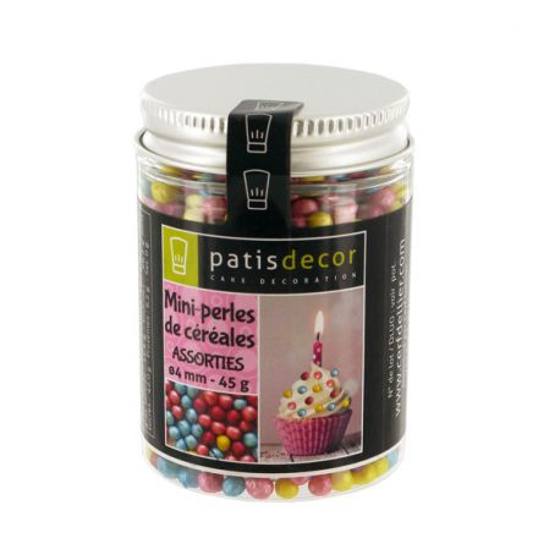 Mini perles de céréales assorties 45 g