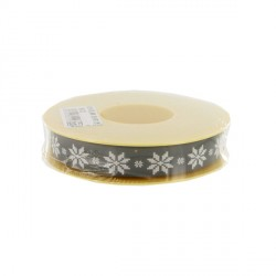 Contour cake drum gris flocons 15 mm (25 m)