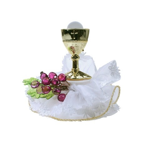 Décor communion calice hostie