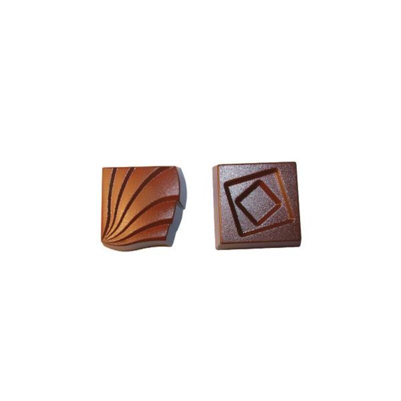 Moule chocolat bonbons assortis
