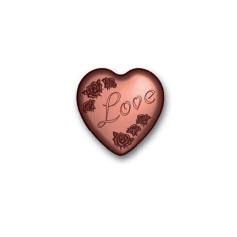 Moule coeurs Love