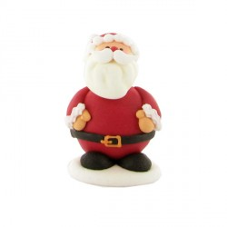 Décor sucre Père Noël debout