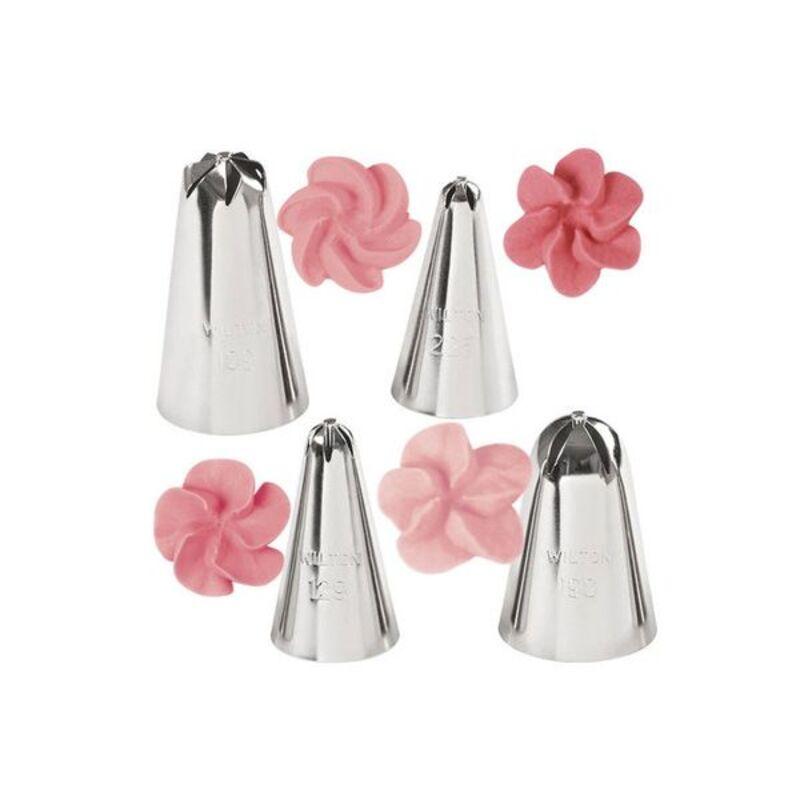 Set 4 douilles à fleurs Wilton
