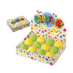 Boîte 12 cupcakes Celebrate Wilton