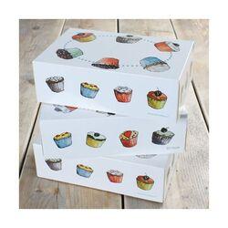 Boîte à 6 cupcakes Funcakes (x3)