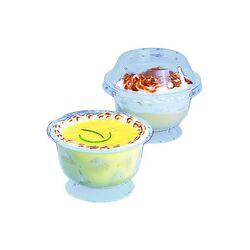 Coupe à dessert plastique 20 cl (x25)