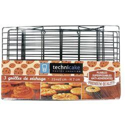 Grille de refroidissement pour gâteaux 3 étages Technicake