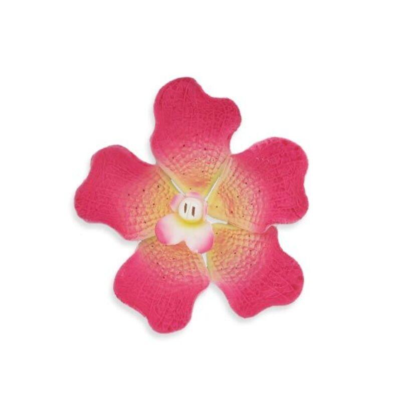 Orchidée vanda fuchsia en pastillage Gatodéco