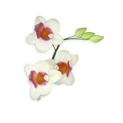 Bouquet de fleurs pastillage Orchidées