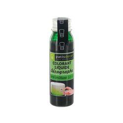 Colorant aérographe vert 30 ml Patisdécor