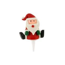 Père Noël assis sur Pique