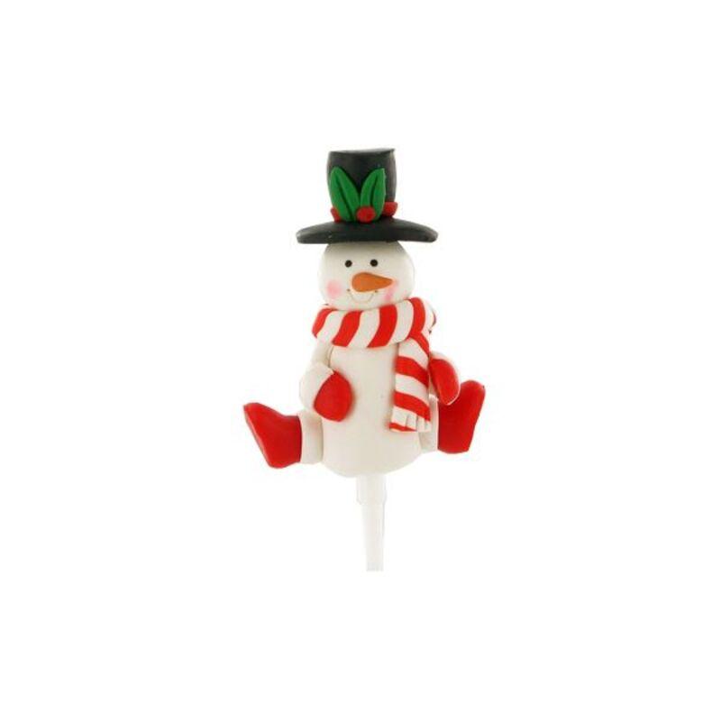 Bonhomme de neige écharpe Gatodéco