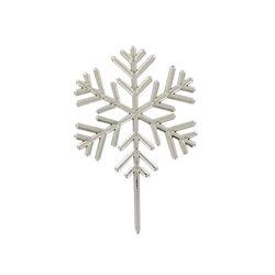 Flocon de neige sur pique Patisdécor (x50)