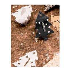 Sapins clipsables noirs pour boîte à chocolat (x 50)
