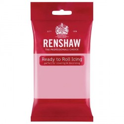 Pâte à sucre Rose Renshaw 250g