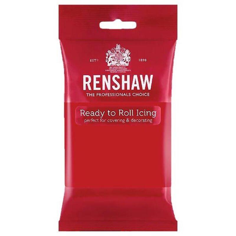 Pâte à sucre Rouge Renshaw 250g