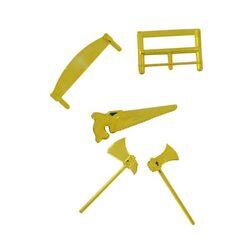 Haches et scies dorées (x50 lots)