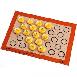 Toile à macarons Silpat (37,5 x 27,5 cm)