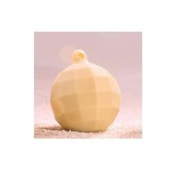 Moule chocolat Boule de Noël à facettes