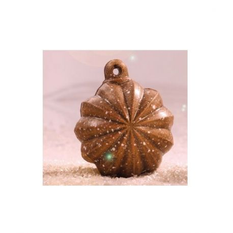 Moule chocolat Boule de Noël étoile