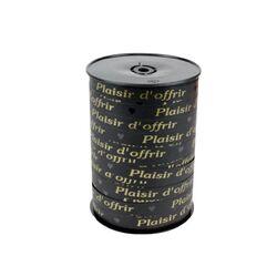 Bolduc Plaisir d'Offrir noir 10 mm (228 m)