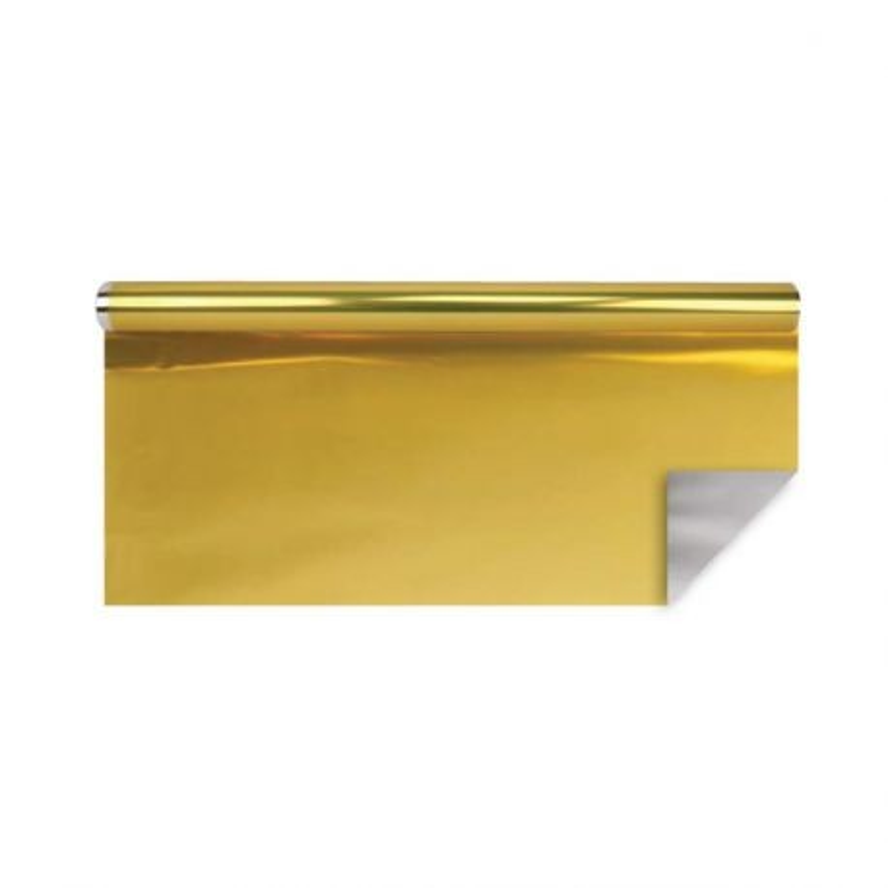 Papier polypro métal or 0,70 x 25 m