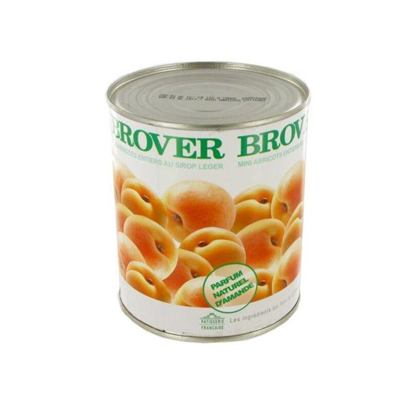 Mini abricots entiers au sirop léger 850 ml