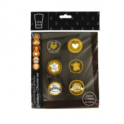 Kit décors transfert chocolat