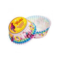 Caissette cupcake Les Trolls (x 50)
