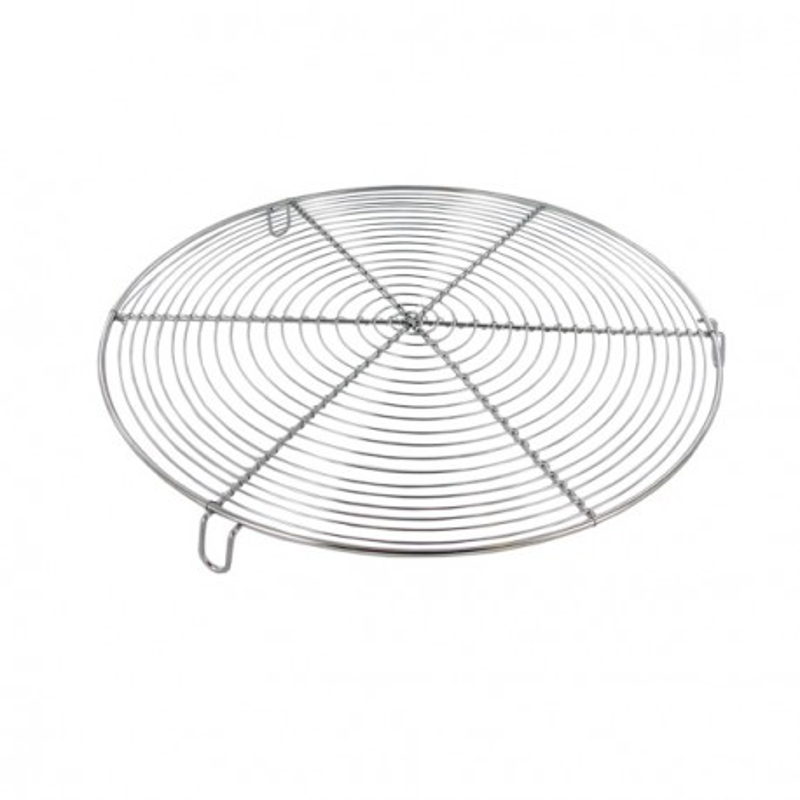 Grille à pâtisserie ronde avec pieds 32 cm