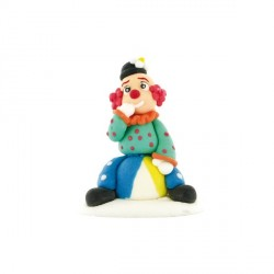 Décor comestible Clown sur un ballon