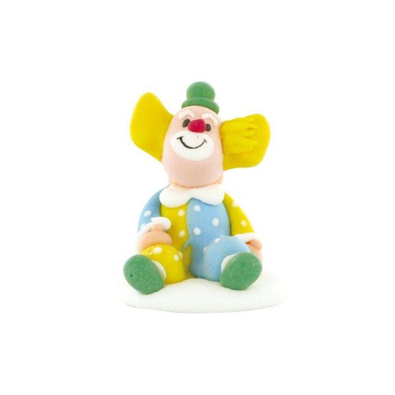 Clown assis en sucre